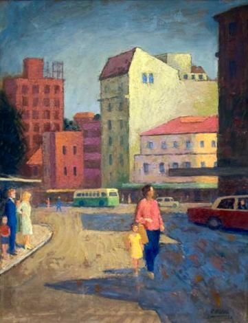 Roland Wakelin, Manly, 1964