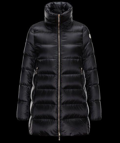Achetez Manteau Moncler Femme Torcy Manteau Noir pas chere