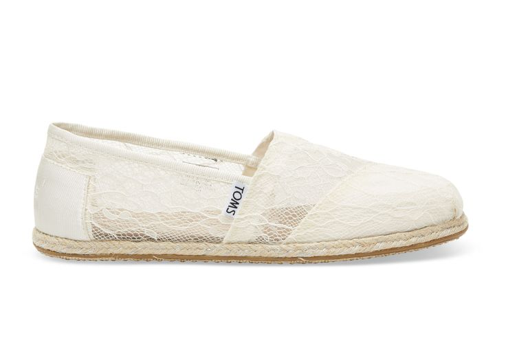 undefined White Lace Rope Women's Classics