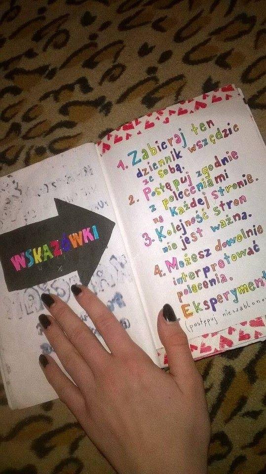 Podesłała Kamila Kurczewska #zniszcztendziennikwszedzie #zniszcztendziennik #kerismith #wreckthisjournal #book #ksiazka #KreatywnaDestrukcja #DIY