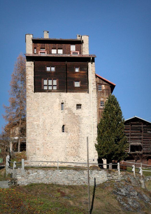 Peter Zumthor /// Tower House Chisti Lumbrein /// Lumnezia, Switzerland /// 1970