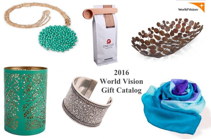 The 2016 World Vision Gift Catalog is now available!