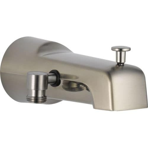 Delta U1010 Pk 6 11 16 Diverter Tub Spout With Hand Shower Connection Brushed Tubs And Products