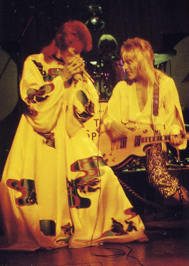 david bowie mick ronson relationship