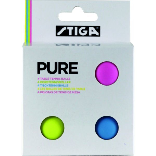 Fitness Stocking Fillers - STIGA Pure Coloured Table Tennis Balls