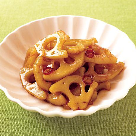れんこんの黒酢きんぴら | 石原洋子さんのおつまみの料理レシピ | プロの簡単料理レシピはレタスクラブニュース