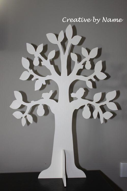 Wooden Tree Display - pear