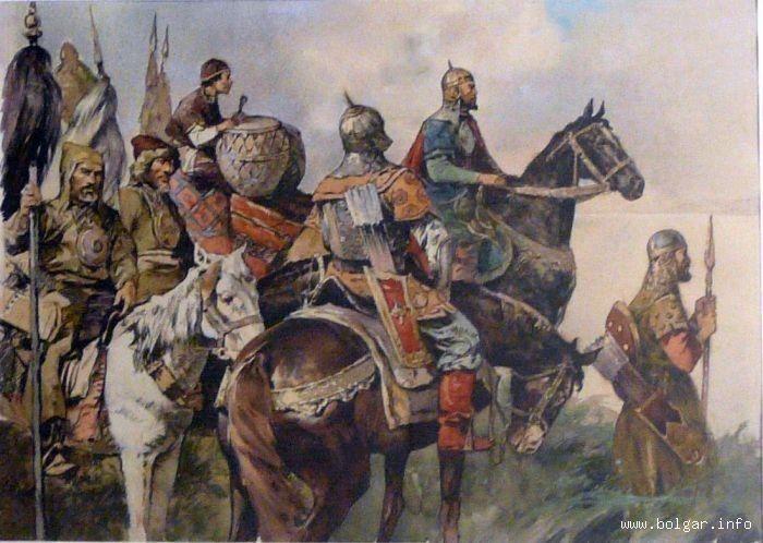 Tatar warriors