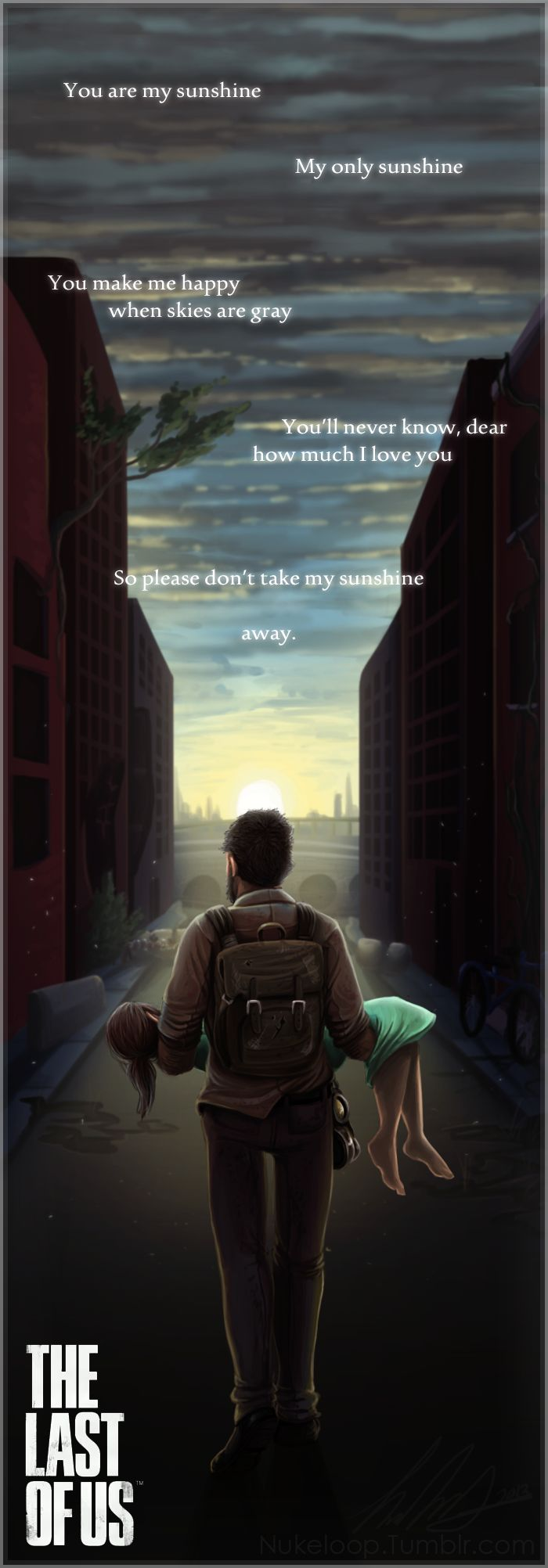 SPOILERS Last of Us: Sunshine by NuclearLoop.deviantart.com on @deviantART