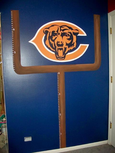 Chicago Bears Wall Art 25 best chicago bears bedroom images on pinterest   bears football