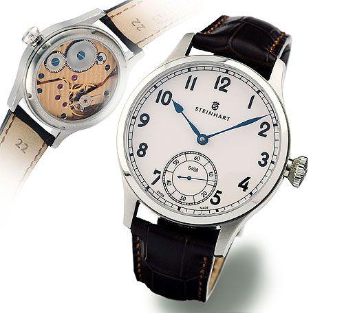 Steinhart MARINE CHRONOMETER 44, arabisch Marine Uhren
