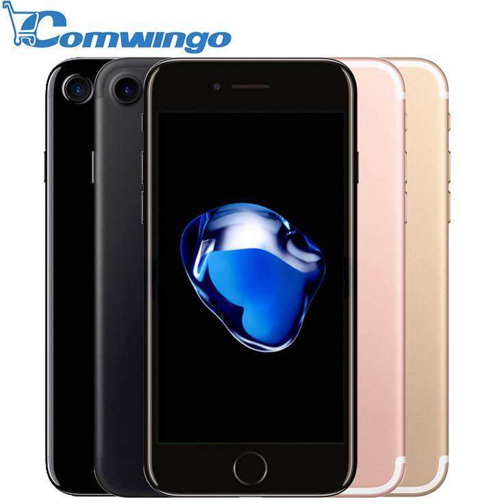 Original Apple iPhone 7/7 Plus 2GB RAM 32/128GB/256GB IOS 10 Cell Phones LTE 12.0MP Camera Apple Quad-Core Fingerprint 12MP | Cheap chinese mobile phones