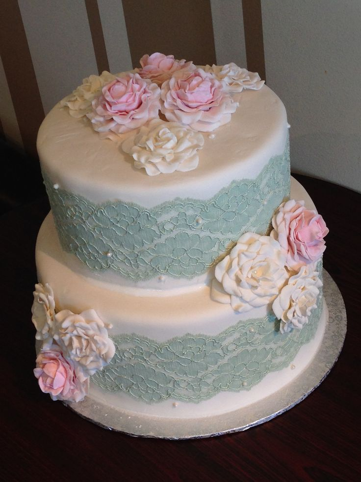 Beautiful Wedding Cakes Sugar Flowers