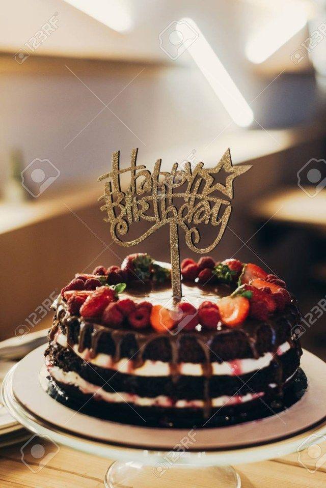 23 Elegant Picture Of Happy Birthday Chocolate Cake Happy