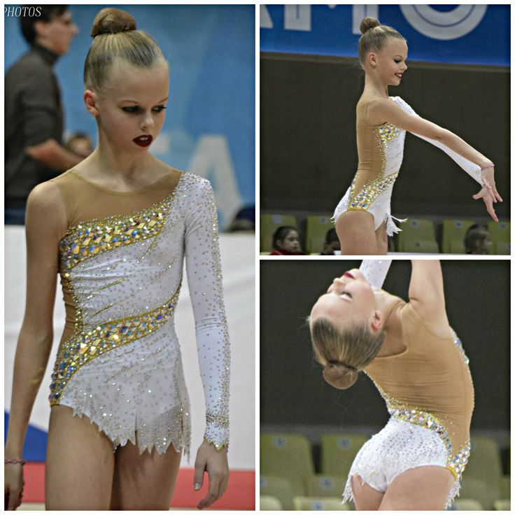 Rhythmic gymnastics leotard (photos by Asya Voskanyan)