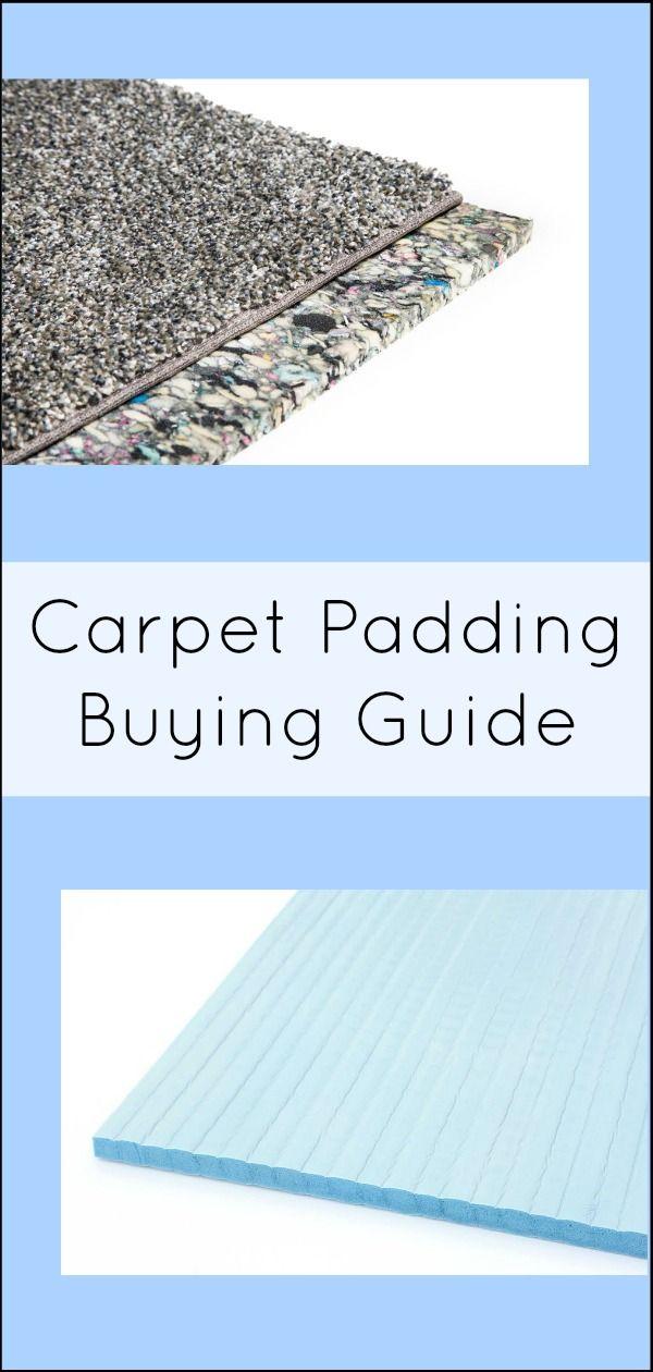 Carpet Padding Guide Everything You Need To Know Flooring Inc Ing Choosing