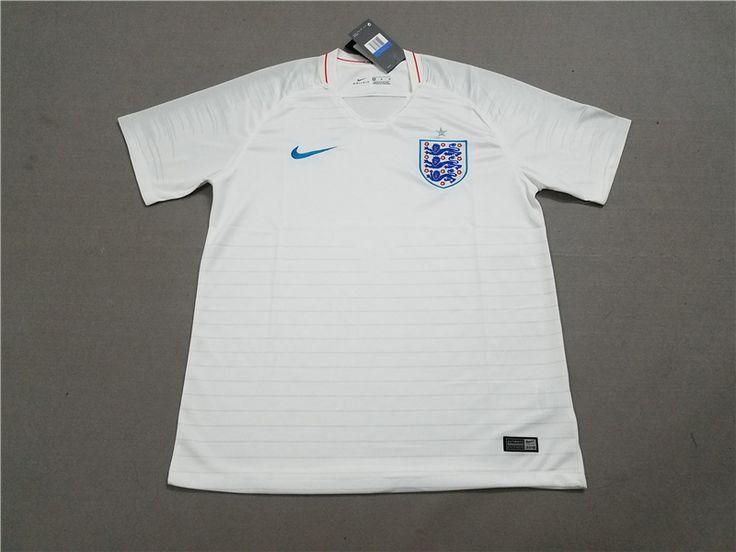 England home white soccer Jerseys 2018 #englandjerseyhome #englandjerseysoccer