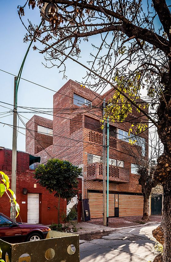 Apartment house in Buenos Aires