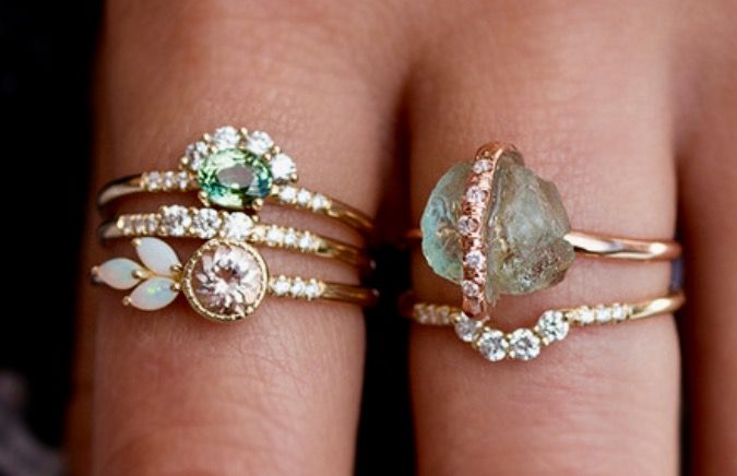 Audrey Rose Stackable Rings