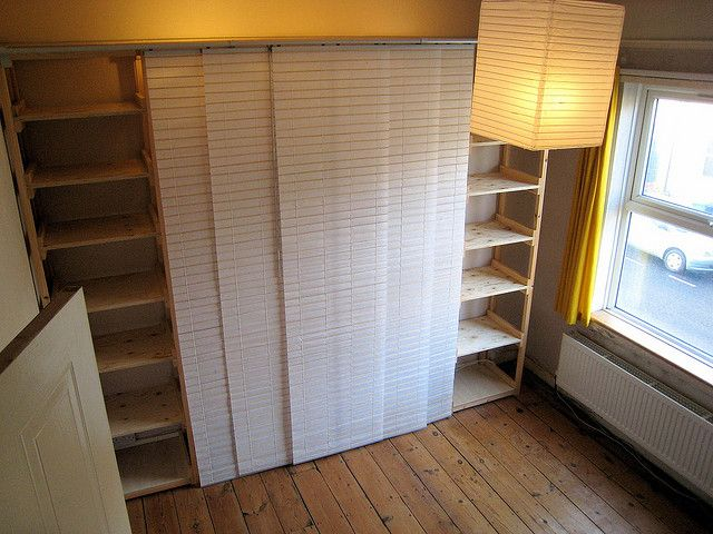 17 Best Images About Hacked Closet Doors And Room Dividers