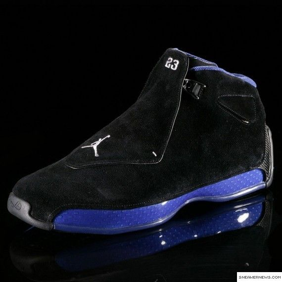 Air Jordan XVIII (18): 2002-03 - SneakerNews.com