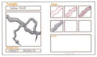 Studio ML: Tangle patterns