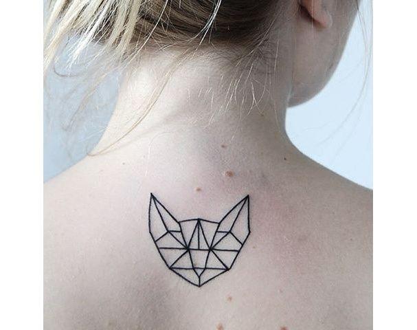 17 meilleures id es propos de designs tatouage de chat sur pinterest tatouages de chat. Black Bedroom Furniture Sets. Home Design Ideas