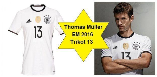DFB Trikot EM 2016 Thomas Müller - mehr Infos und zum Angebot hier: http://www.marco-reus-trikot.de/thomas-muller-deutschland-trikot/