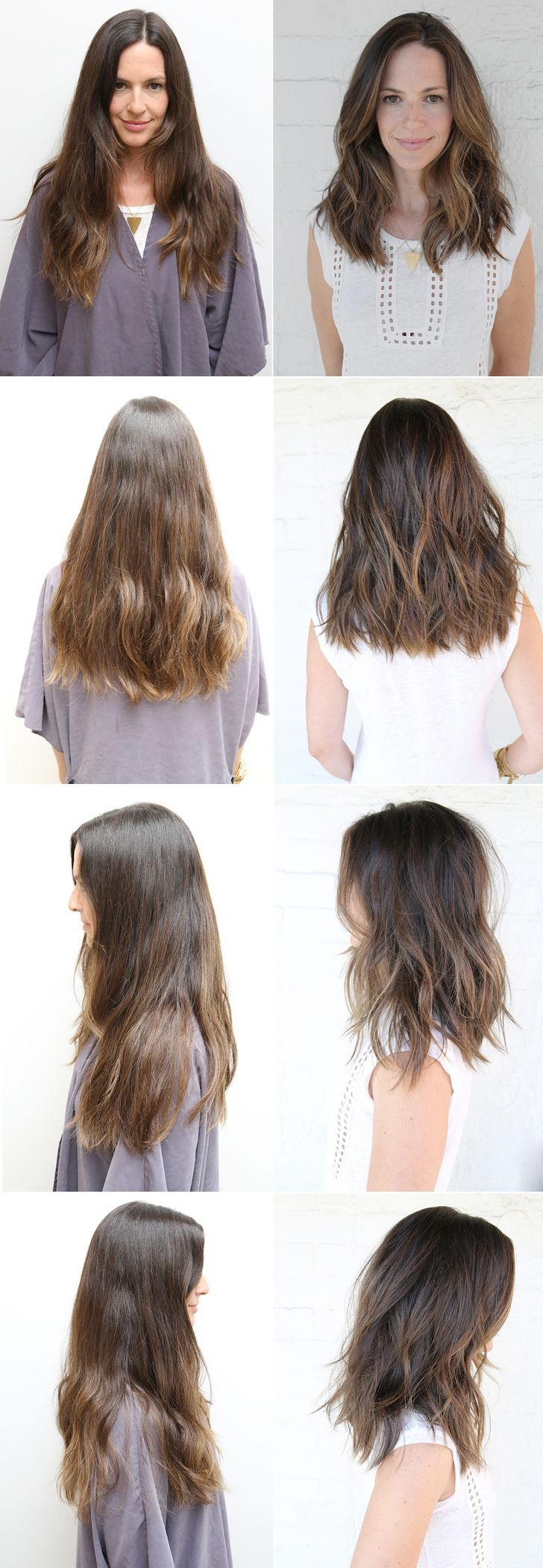 soft a-line undercut with long layers: Medium Hair Cut With Layer, Lob Hair With…