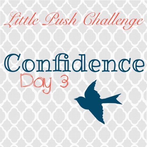 Little Push 5 Day Challenge  Confidence Day 3