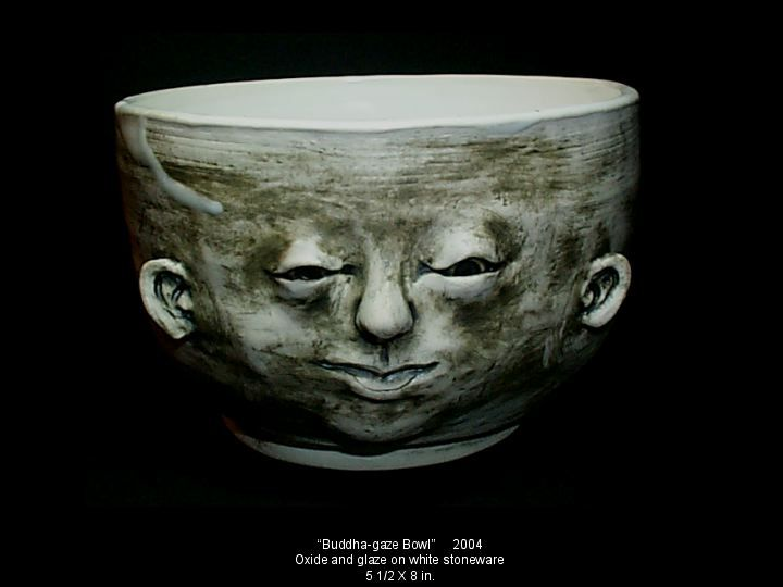 Buddha Gaze Bowl by ~Geotjakra Artisan Crafts / Ceramics, Pottery & Clay / Other©2013 ~Geotjakra in private collection.