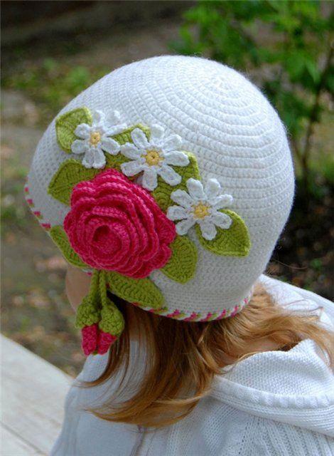 http://www.craft-craft.net/crafts-for-summer-crochet-hat-patterns-kids-craft-ideas.html