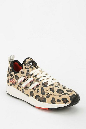 adidas Tech Super 2.0 Animal Print Running Sneaker by: URBAN OUTFITTERS