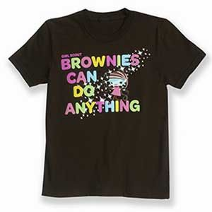 "Girl Scout Shop - Official ""Brownies Can Do Anything"" T-Shirt"