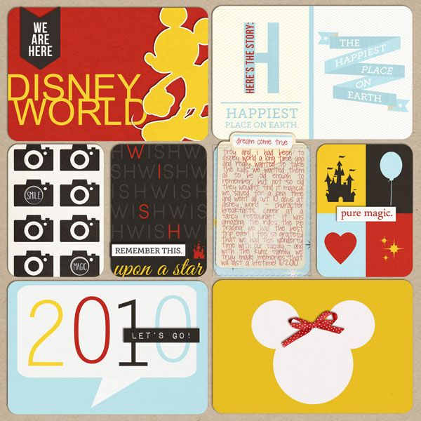 disney world cover page by neeceebee, via Flickr
