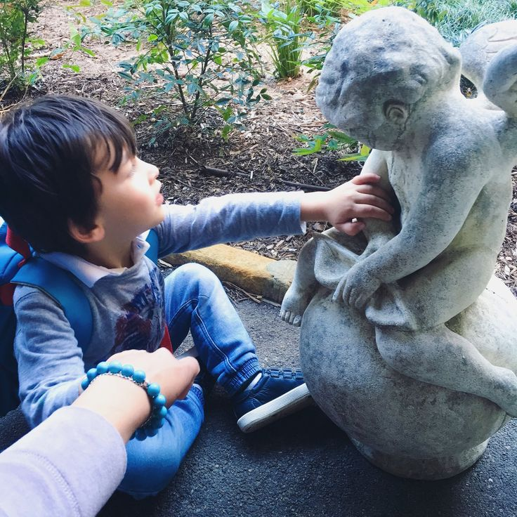 Empathy, compassion and curiosity as to why the little cherub looks so sad...