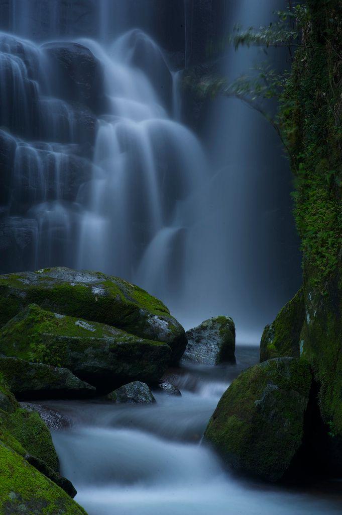 Kuwanoki Waterfall, Shingu, Wakayama, Japan
