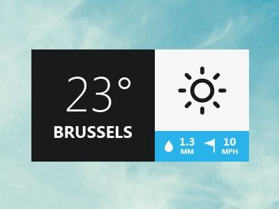 Dribbble - Weather Pop-up by Monsters'Lab