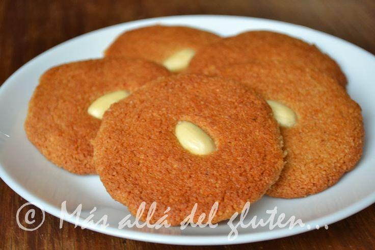 Más allá del gluten...: Galletas de Harina de Almendras (SCD, GFCFSF, Vegana)