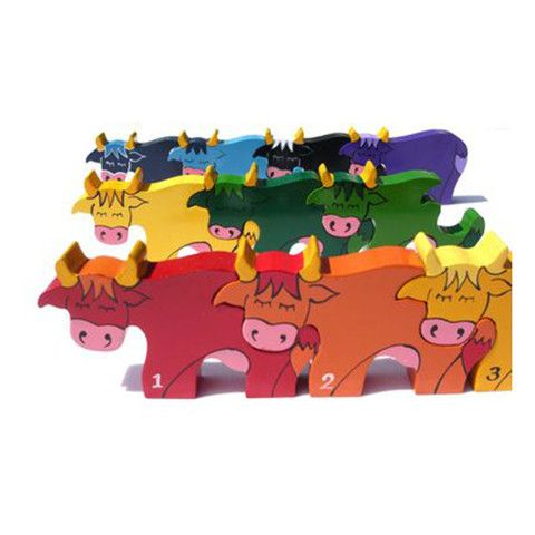 Number Cow Row