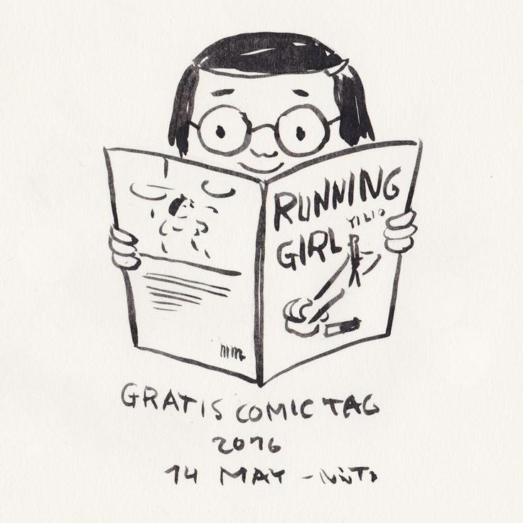 (Diary-Picture 355/365) 14 MAY – GRATIS COMIC DAY: reading the new released »RUNNING GIRL« by Yi Luo