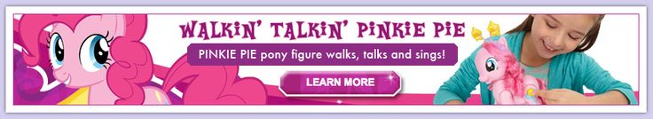 My Little Pony Party Planner on Hasbro Site