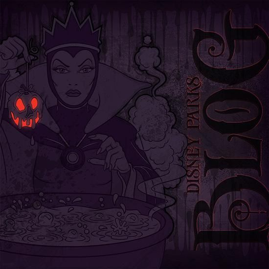 Disney Villains Wallpaper Series: Snow White's Evil Queen