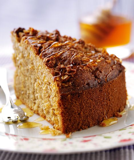 Oatmeal & Honey Cake Recipe