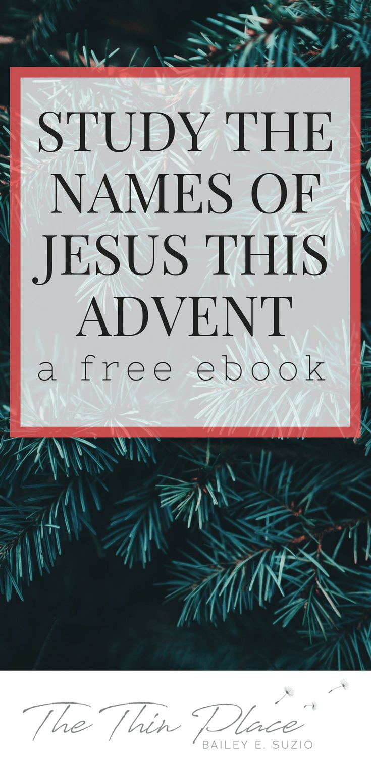 His Name Shall Be Called: An #Advent #Devotional - The Thin Place #Christmas #Jesus
