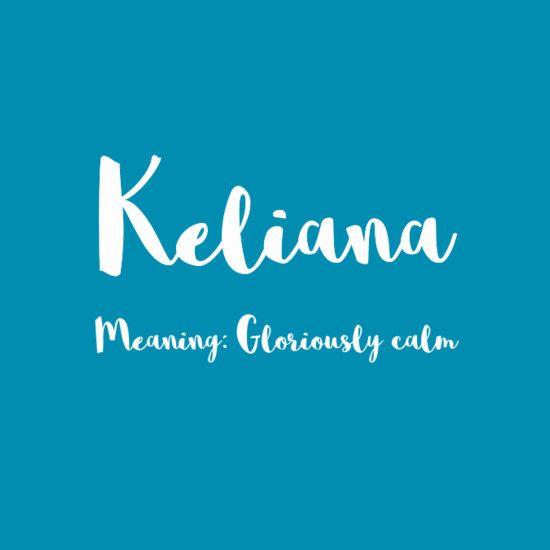 Keliana - Simply Adorable Hawaiian Baby Names for Girls - Photos
