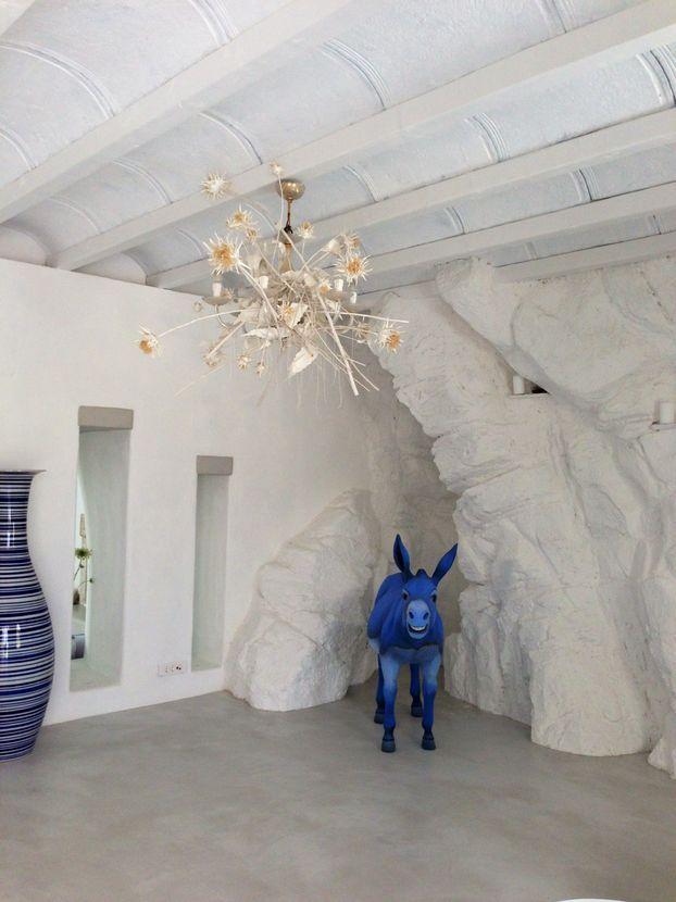 The Blue of Mykonos