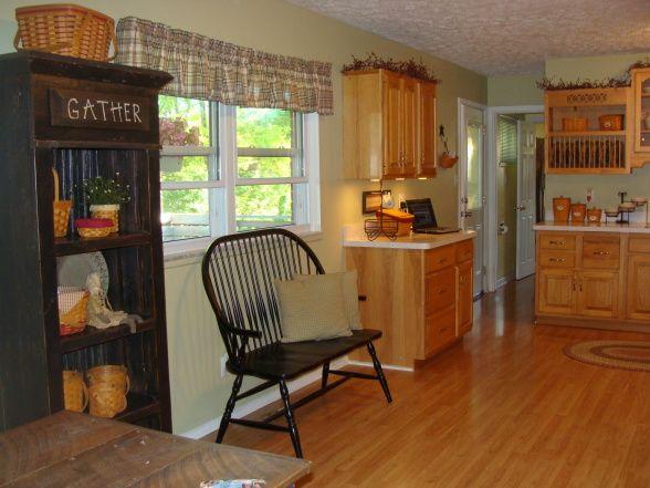 Primative Kitchen Clean Country Kitchen Clean Country Primitive Kitchen Kitchens For