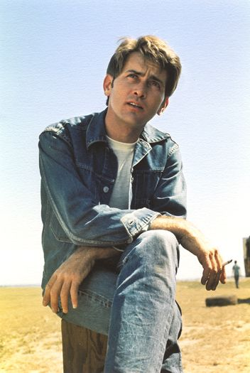 "Martin Sheen in ""Badlands"" great movie."