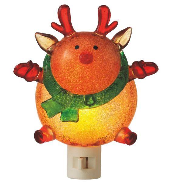 beaded wobble reindeer christmas night light - Christmas Night Light